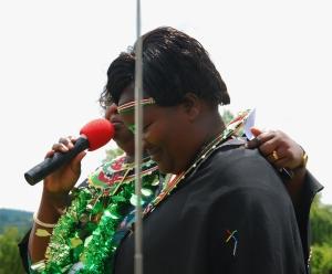 Dr. Mary Chepkite Lopokoyit, PhD with Caroline Menach, Principal St. Elizabeth Girls Secondary School