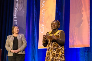 Jackie Rioba, World Vision Kenya